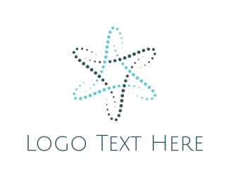 Event Space - Atom Star logo design