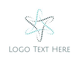 Molecule - Atom Star logo design