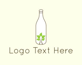 Recycling - Eco Bottle logo design