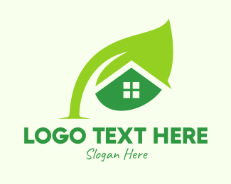 Seed - Green Seed House logo design