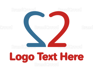 Double - Double Number 2  logo design