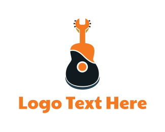 Wrench - Wrench Guitar logo design