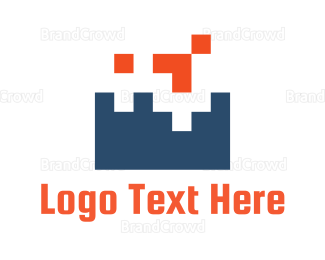 Pixel - Game Pixels logo design