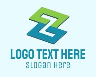Architecture - Letter Z Property Construction  logo design