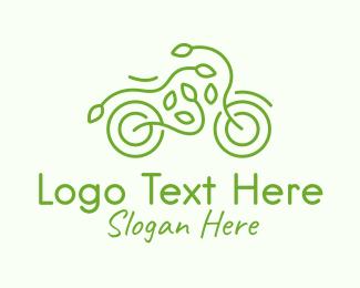 Bike - Eco Friendly Bike logo design