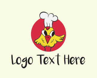 Cook - Chef Chicken logo design