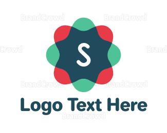 Botanical - Flower Letter S logo design