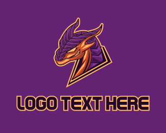 Esports - Armor Dragon Gaming  logo design