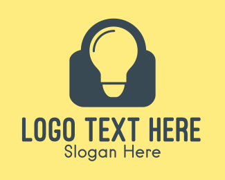 Lightbulb - Smart Bulb logo design