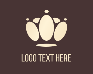 Kingdom - Crown Paw logo design