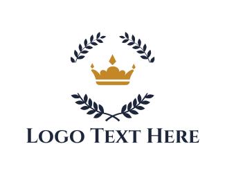 Olive - Royal Crown logo design