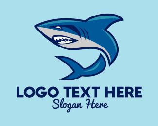 Sports - Shark Sport Mascot logo design