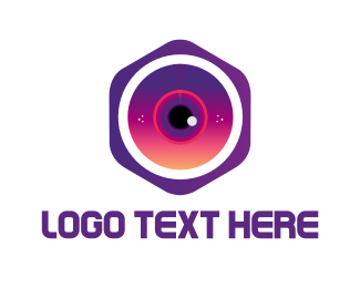 Hexagonal Camera Logo