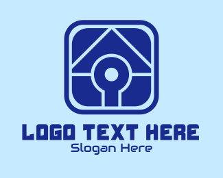 Property Management - House Finder App logo design