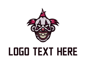 Festival - Evil Clown  logo design