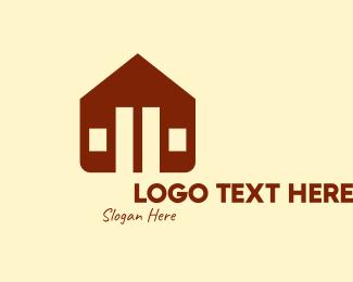 Subdivision - Brown Housing Subdivision logo design
