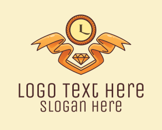 Jewelry - Golden Jewelry Shop logo design