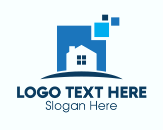 House Buying - Online House For Sale logo design