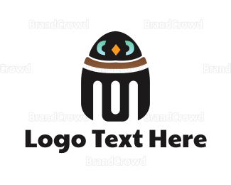 Robot - Penguin Robot logo design
