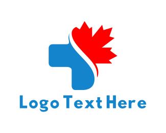 Maple - Canadian Clinic logo design