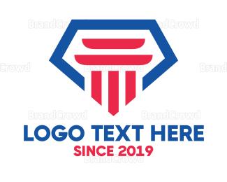 Law - Jewel Law Firm logo design