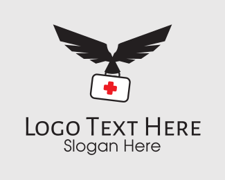 Medicinal - Eagle Medicine Kit logo design