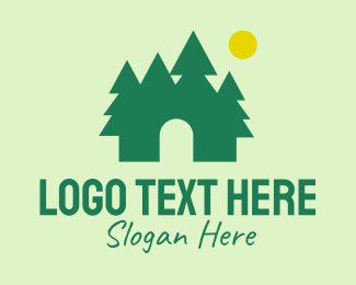 Park - Nature Park Outdoor logo design