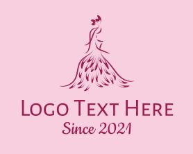Fashion - Pink Fashion School logo design