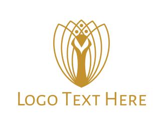 Luxury - Luxurious Peacock logo design