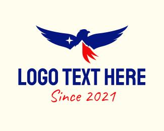 Business - American Mountain Eagle logo design