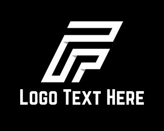 White Letter F Logo