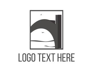 Grey - Grey Bridge logo design
