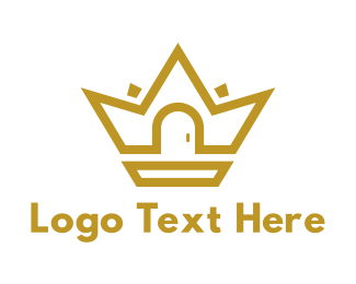 Gold House Crown Logo