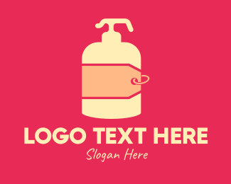 Hangtag - Lotion Price Tag logo design