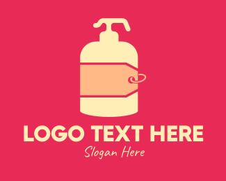 Lotion - Lotion Price Tag logo design