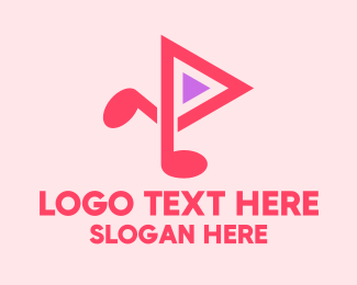 Stream - Music Streaming Application logo design