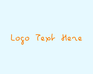 Kid - Kid Handwriting logo design