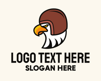 Head Gear - Eagle Travel Helmet logo design