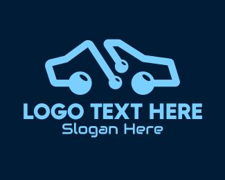 Car Design - Modern Car Store logo design
