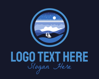 Ocean - Ocean Night logo design
