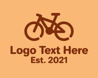 Cycling Club - Monoline BMX Bike  logo design