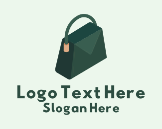 Luxury Bag - 3D Luxury Handbag  logo design