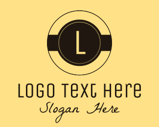 Pancake - Clean Brown Coffee Shop Lettermark logo design