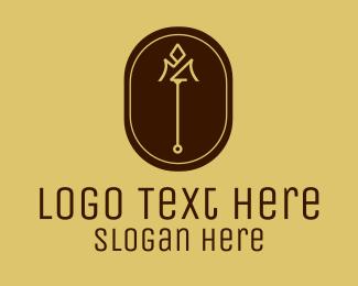 Fashion Accessories - Luxury Trident Emblem  logo design