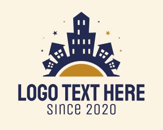 Urban - Urban City Tower logo design