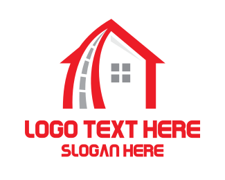 Highway - Red House Highway logo design