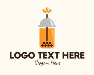 Tea - Modern Tea Drink logo design