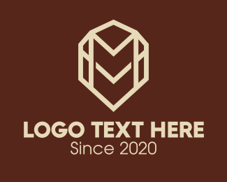 """Premium Elegant Letter M"" by Alexxx"