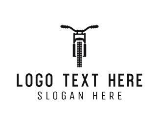 Motocross - Motorcycle Film logo design