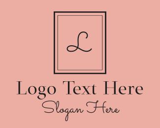 Perfume - Black Luxury Perfume Letter logo design